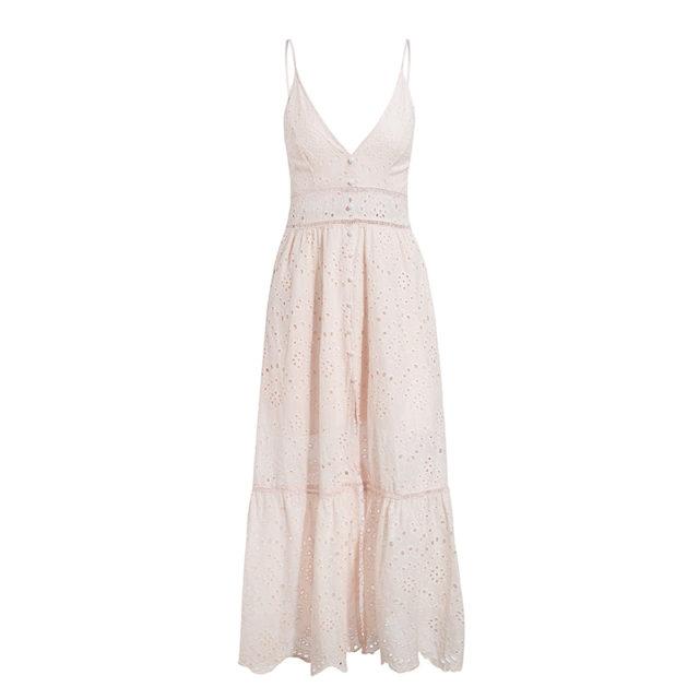 Women's Hollow Out Maxi Dress