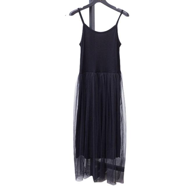 Women's Off Shoulder Tulle Cami Dress