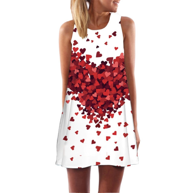 Lovely Summer Casual Sleeveless Women's Dress