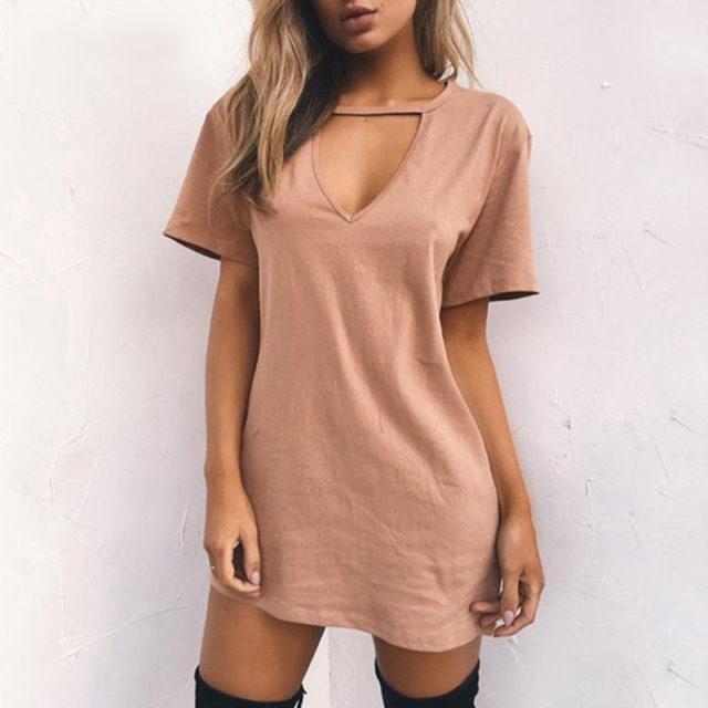 Women's A-Line Mini Dress