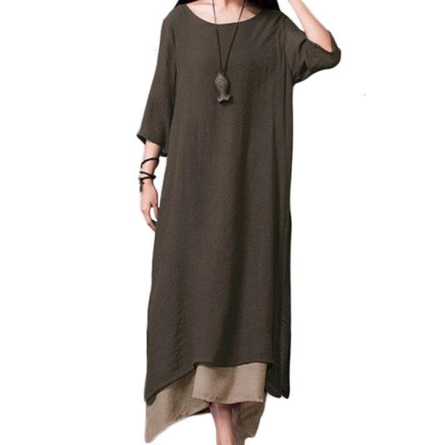 Women's Boho Style Maxi Dress