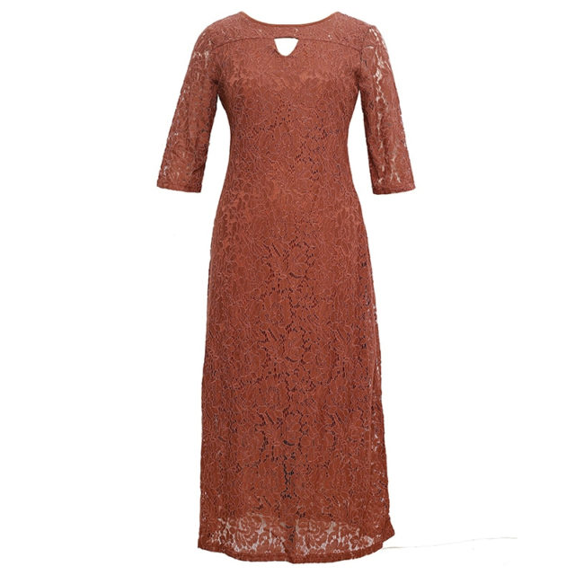 Women's Elegant Plus Size Party Dress