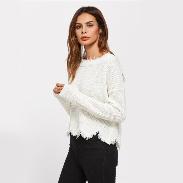 Women's Backless Sweater
