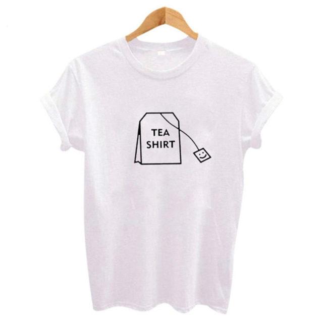 Women's Tea Shirt Printed T-Shirt