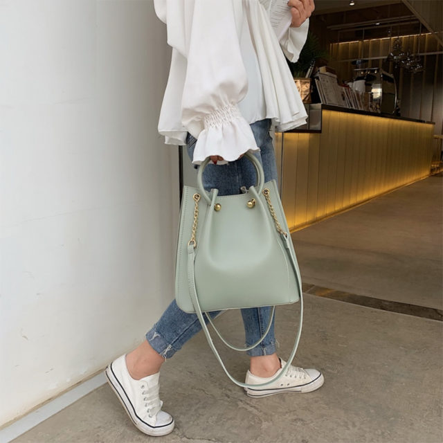 Women's Casual Fashion Leather Handbag