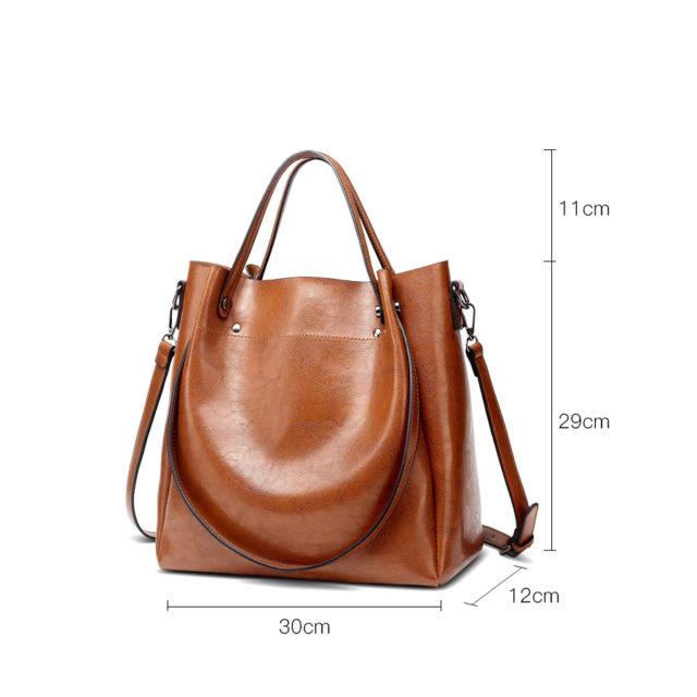 Women's Casual Style Large Capacity Handbag