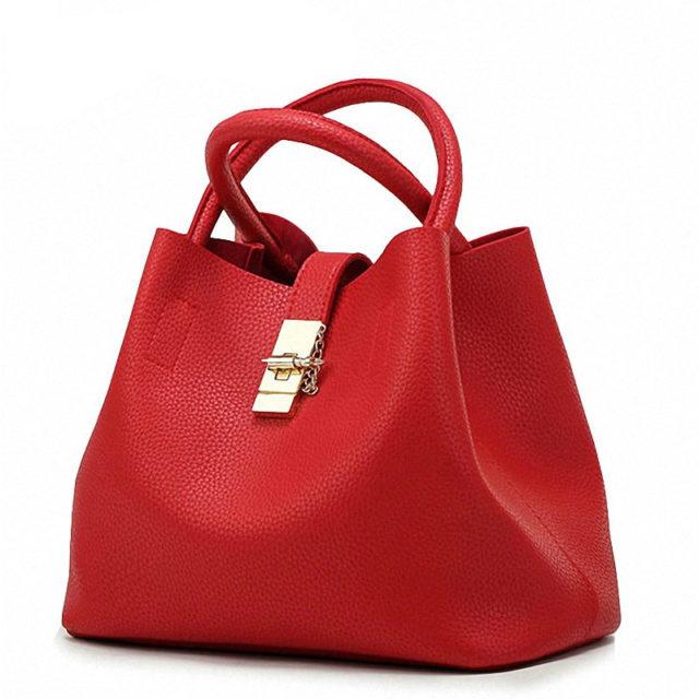 Women's Matte Eco-Leather Tote Bag