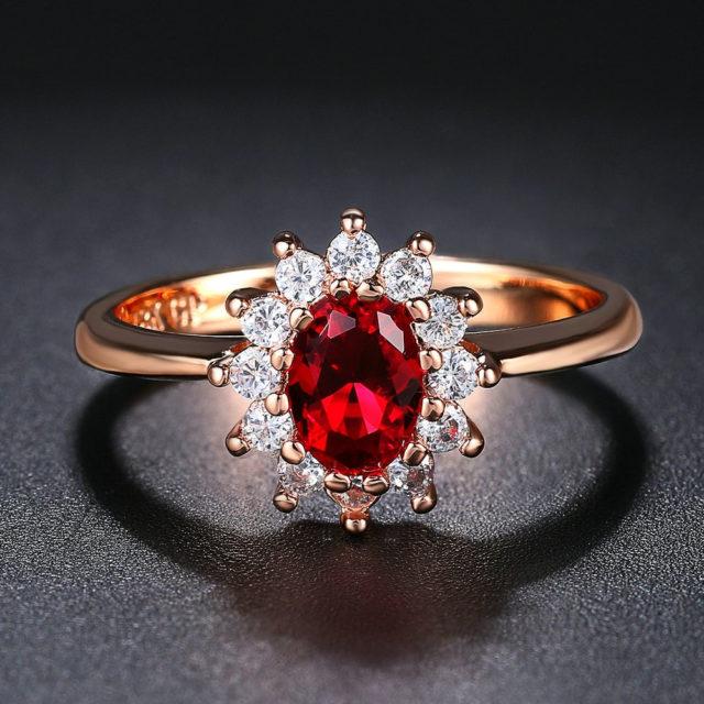 Women's Princess Kate Style Ring