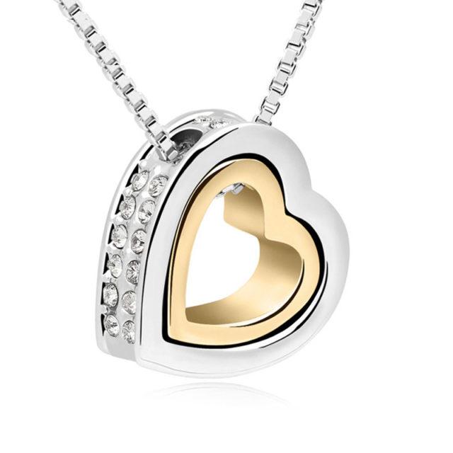 Women's Shiny Heart Necklace